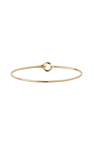 HOOK BRACELET - HIGH POLISHED GOLD