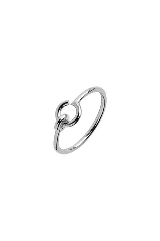 HOOK RING - SILVER