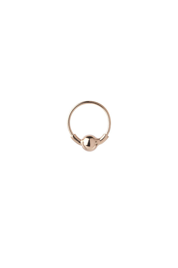 HOOP 5 EARRING - ROSE GOLD