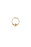 HOOP 5 EARRING - HIGH POLISHED GOLD