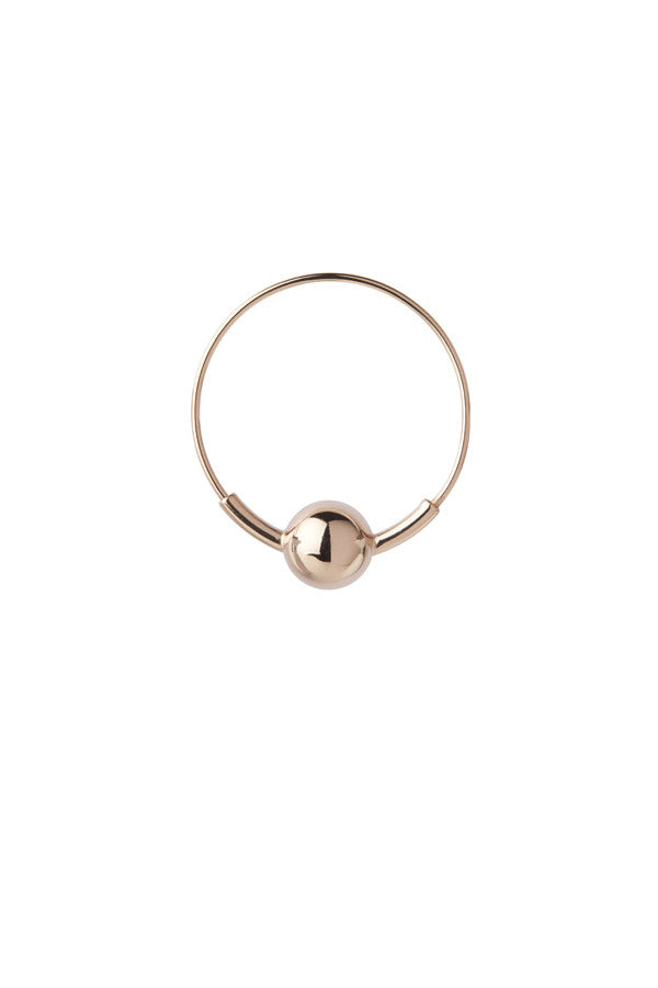 HOOP 8 EARRING - ROSE GOLD