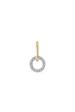 JOLIE BLANC EARRING - 18K YELLOW GOLD