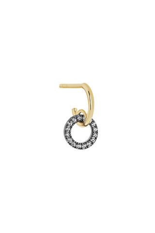 JOLIE NOIR EARRING - 18K YELLOW GOLD