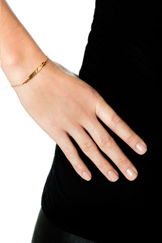 CELESTE BRACELET - HIGH POLISHED GOLD