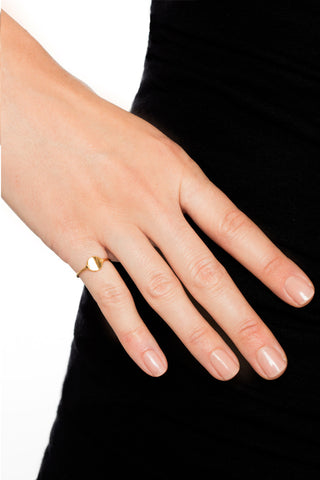 ELISE RING - HIGH POLISHED GOLD