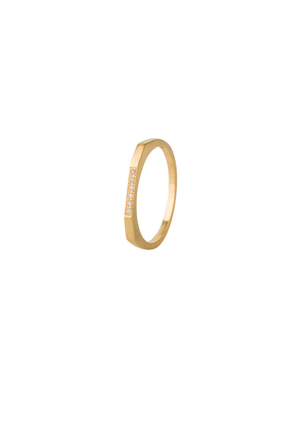 LE WITT DIAMOND RING - GOLD