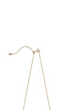BELL NECKLACE 45 - HIGH POLISHED GOLD