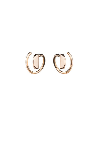 MAE TWIRL EARRING - 18K ROSE GOLD