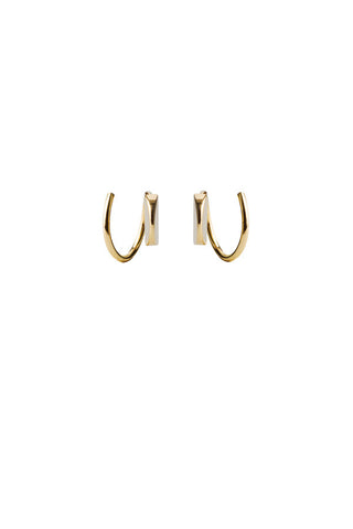 MAE TWIRL EARRING - 18K YELLOW GOLD