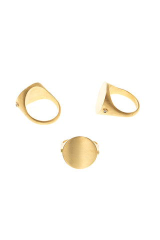 PLAYGIRL DIAMOND RING - GOLD