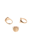 READY HEART RING - ROSE GOLD