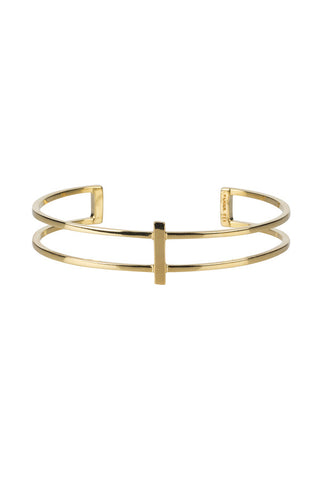 ROW BRACELET - HIGH POLISHED GOLD