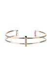 ROW BRACELET - ROSE GOLD