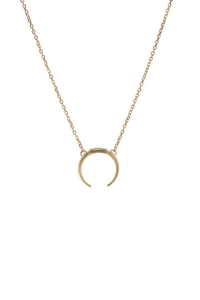 TUSK NECKLACE - GOLD