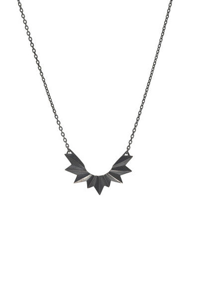WING NECKLACE - BLACK