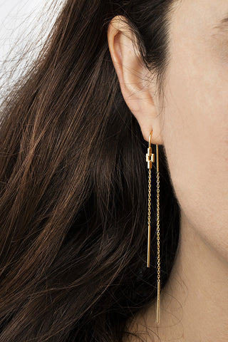 AURORE EARRING - BLACK