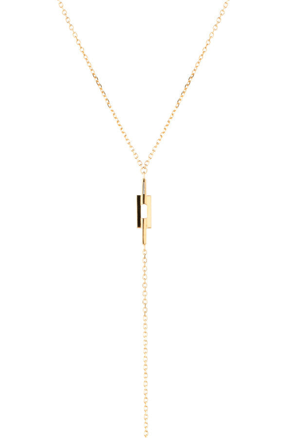 AURORE NECKLACE - HIGH POLISHED GOLD