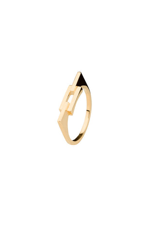 AURORE RING - HIGH POLISHED GOLD