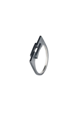 AURORE RING - BLACK