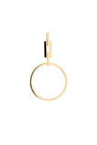 AURO HOOP EARRING - HIGH POLISHED GOLD