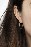 BASIC HOOP EARRINGS - ROSE GOLD