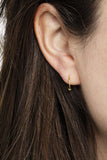 BASIC HOOP EARRINGS - HIGH POLISHED GOLD