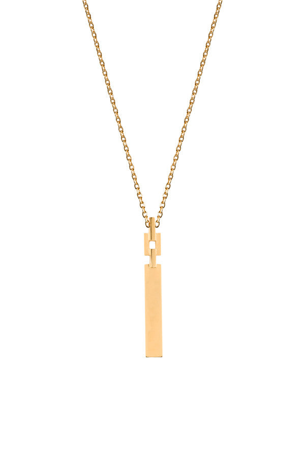 CELESTE NECKLACE - HIGH POLISHED GOLD