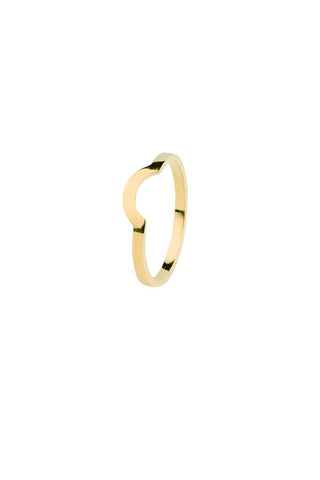 CLAUDINE RING - HIGH POLISHED GOLD