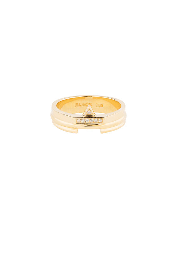 COCOLOCK DIAMOND RING - 18K YELLOW GOLD