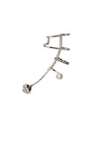 Ines Mono Ear Cuff - 14K white gold