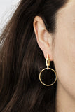 AURO HOOP EARRING - ROSE GOLD