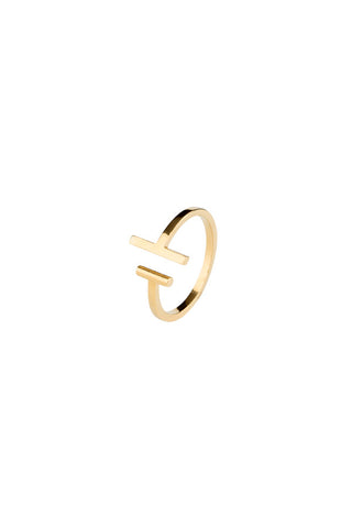 KYLA RING - HIGH POLISHED GOLD