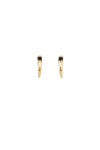TUSK MINI EARRING PAIR - HIGH POLISHED GOLD
