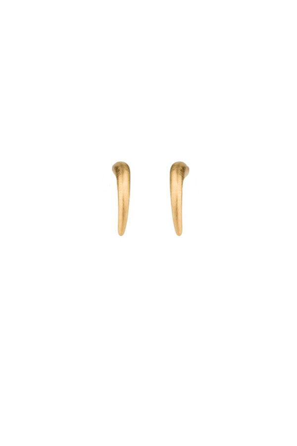 TUSK MINI EARRING - GOLD