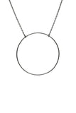 MONOCLE NECKLACE - BLACK