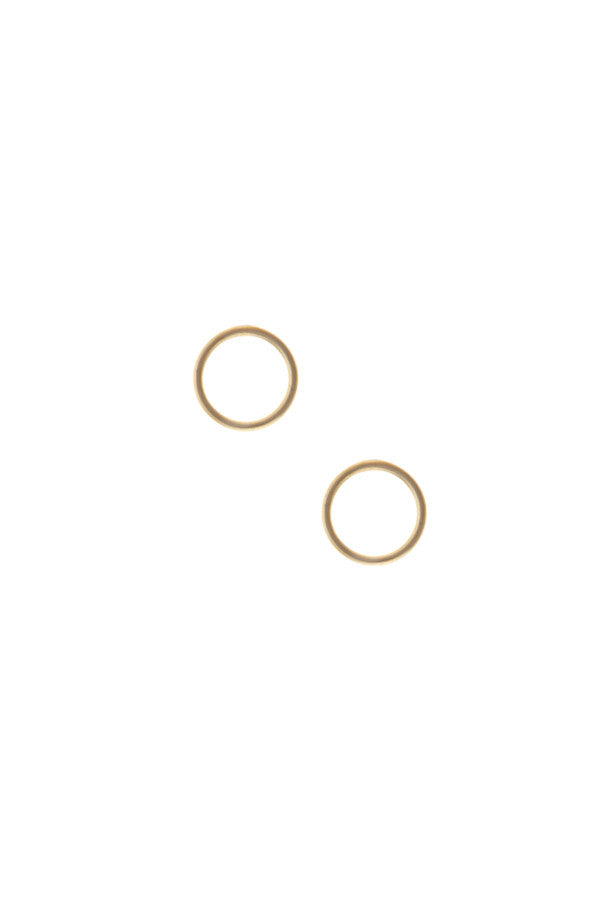 MONO CIRCLE EARRING - GOLD