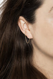 SARAH DIAMOND EAR CUFF  - 18K YELLOW GOLD