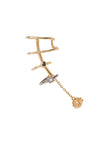 Trix Noir Ear Cuff - 18K yellow gold