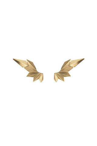 WING EARRING - GOLD