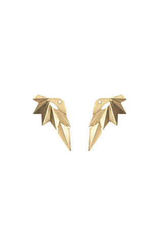 WING REVERSE EARRING - GOLD
