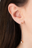 ORBIT EARRING - ROSE GOLD