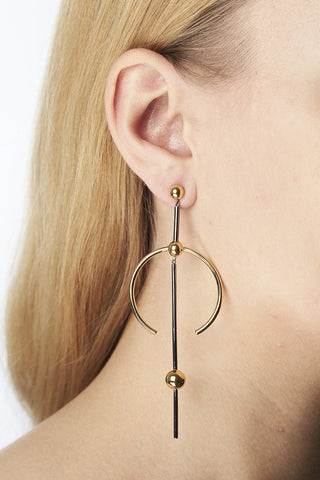 HYDRA MAXI EARRING - GOLD/SILVER