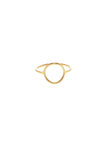 MONOCLE RING MEDIUM CIRCLE - GOLD
