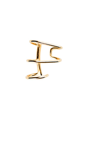 AURICLE NUDE EAR CUFF - HIGH POLISHED GOLD