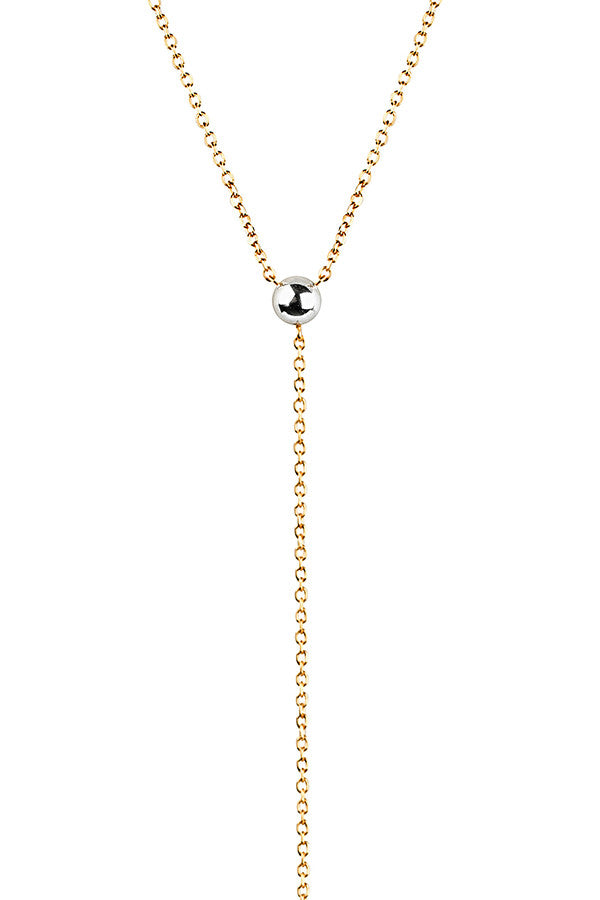 HELIX NECKLACE - GOLD/SILVER