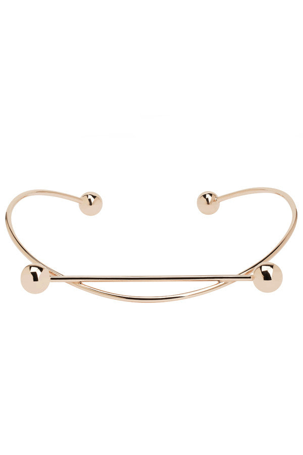 SOLAR CHOKER - ROSE GOLD