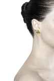 Maria Black Reverse Wing Earring Mercantile