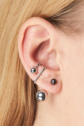 ORION EAR CUFF - SILVER