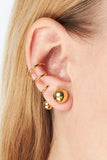 PHOENIX EAR CUFF RIGHT - HIGH POLISHED GOLD