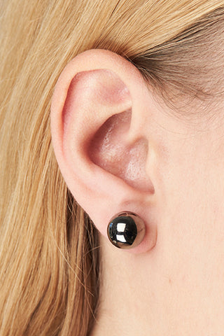 CORVI 12 EARRING - GOLD/BLACK